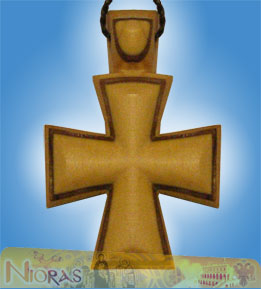 Engraved Wooden Cross 9
