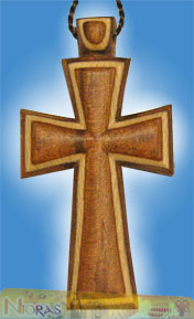Engraved Wooden Cross 11