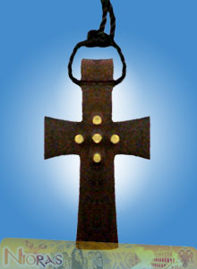 Engraved Wooden Cross 14