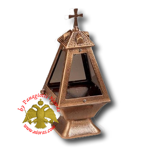 Pyramid Style With Square Base Cenotaph Oil Candle