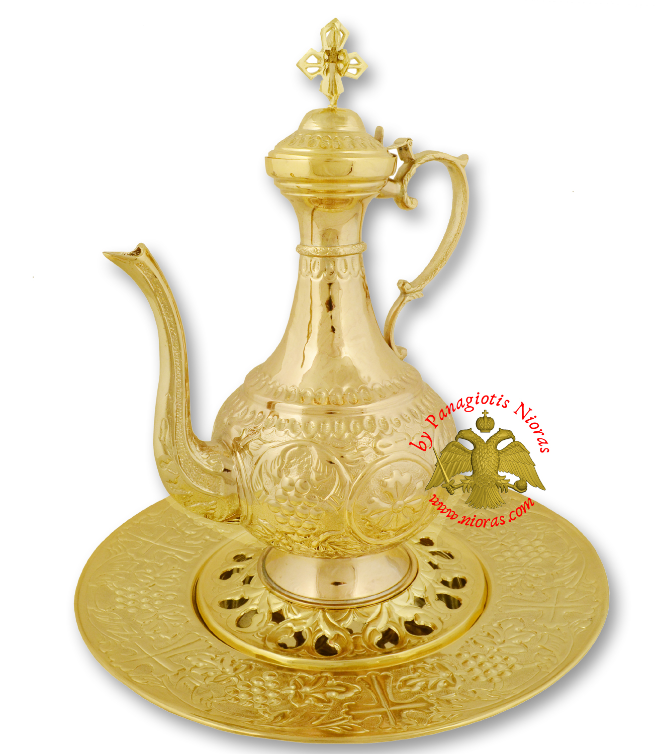 Hernivoxeston Orthodox Church Pitcher A' Gold Plated