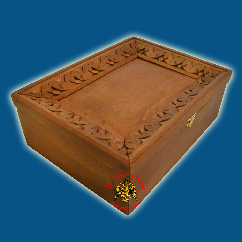 Orthodox Wood Carved Frame Box