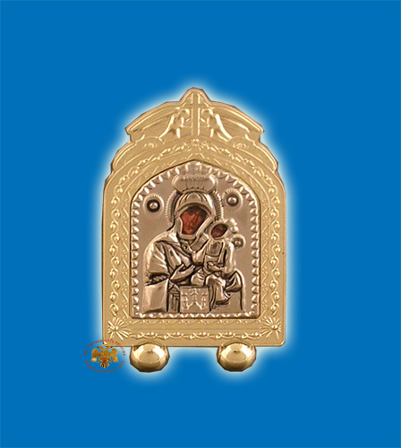 Small Metal Icon Design D 2.5x4cm
