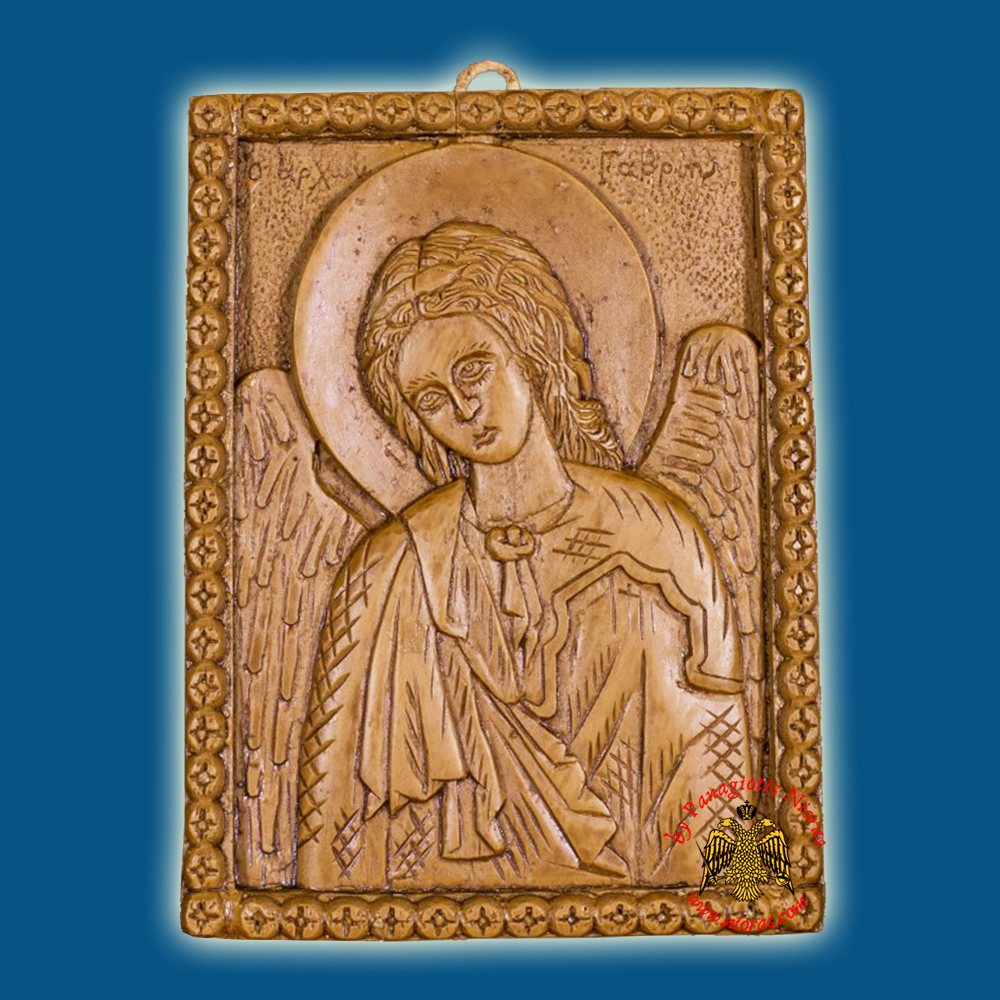Icon From BeeWax Archangel Gabriel