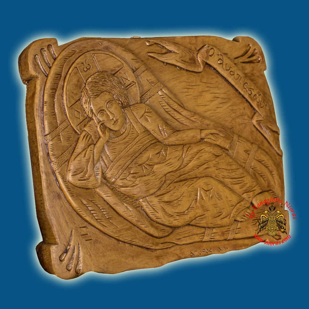 Icon From BeeWax Reclining Infant Jesus