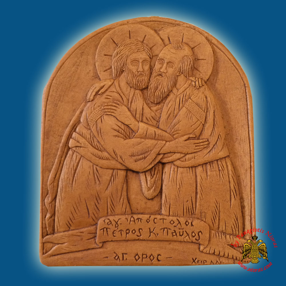 Icon from BeeWax Holy Aposltes Saint Peter & Saint Paul