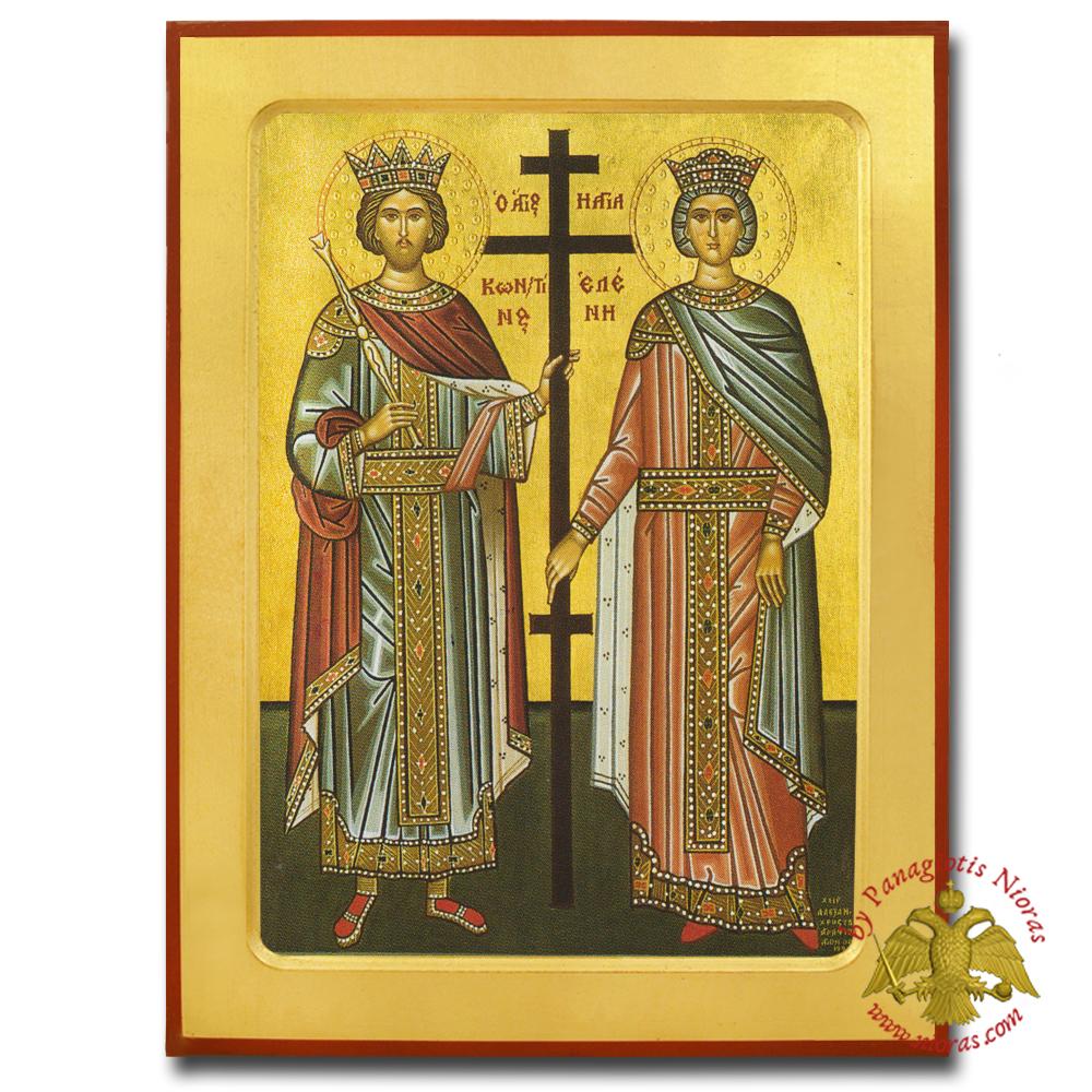 Constantine and Helen, Saints Male, www Nioras com