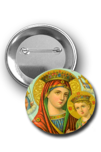 Orthodox Pin Button Icons