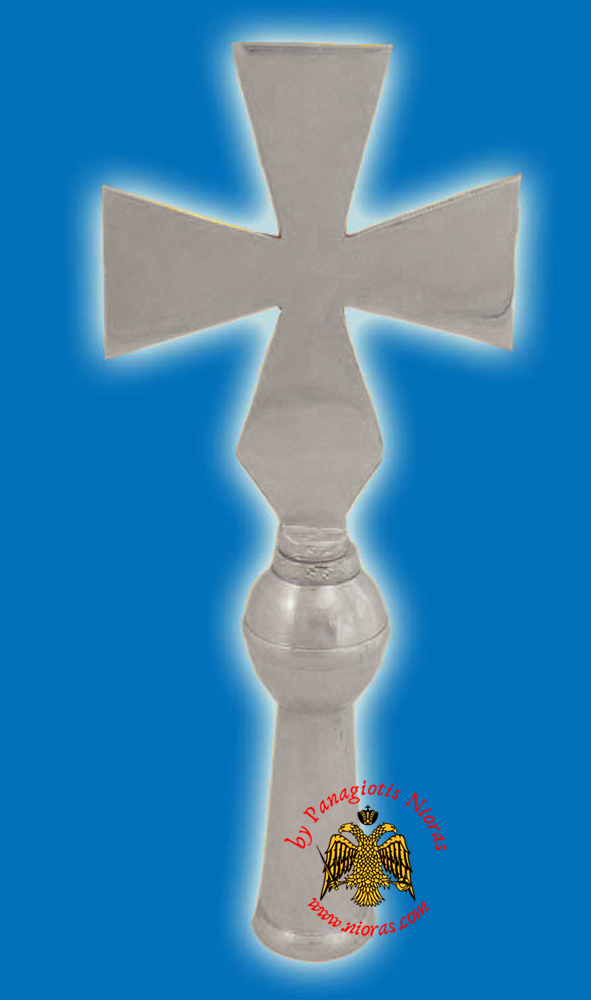 Cross Church Classic for Flag Pole - Nickel