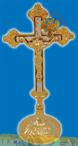 Blessing Cross Gold-Plated with Base C
