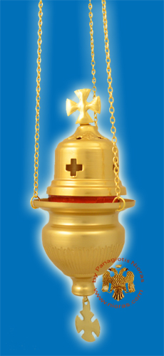 Aluminium Hanging Oil Metal Candle Gold A