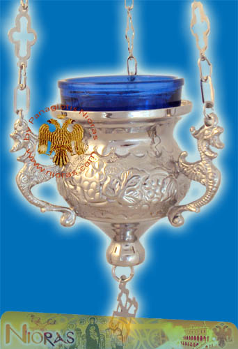Orthodox Hanging Oil Candle Lace A