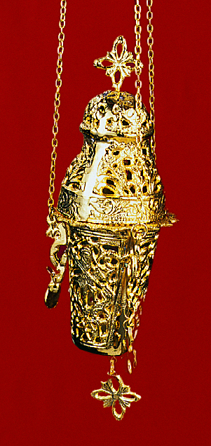 Gianiotino Style B Gold Plated Hanging Oil Candle