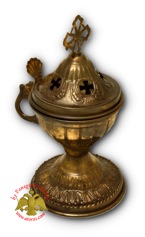 Orthodox Engraved Design A Incense Burner Antique