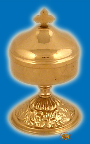 Incense Box with Base Brass