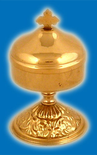 Incense Box with Base GoldPlated