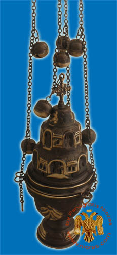 Combelidiko Church Censer Antique Style