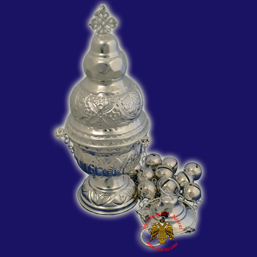 Athinaikon Style A Church Censer Silver 925