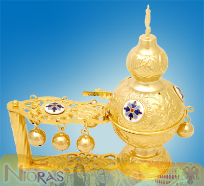 Katsio Ecclesiastical Cencer Russian Style A Gold PLated