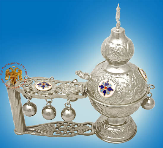 Katsio Ecclesiastical Cencer Russian Style A Silver Plated