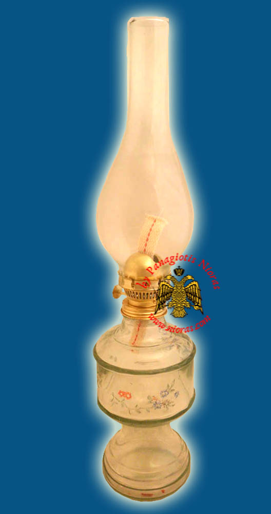 Glass Kerosene Lamp