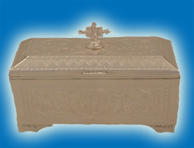 Holy Table Relics Box Silver 925 <b>Special Order</b>