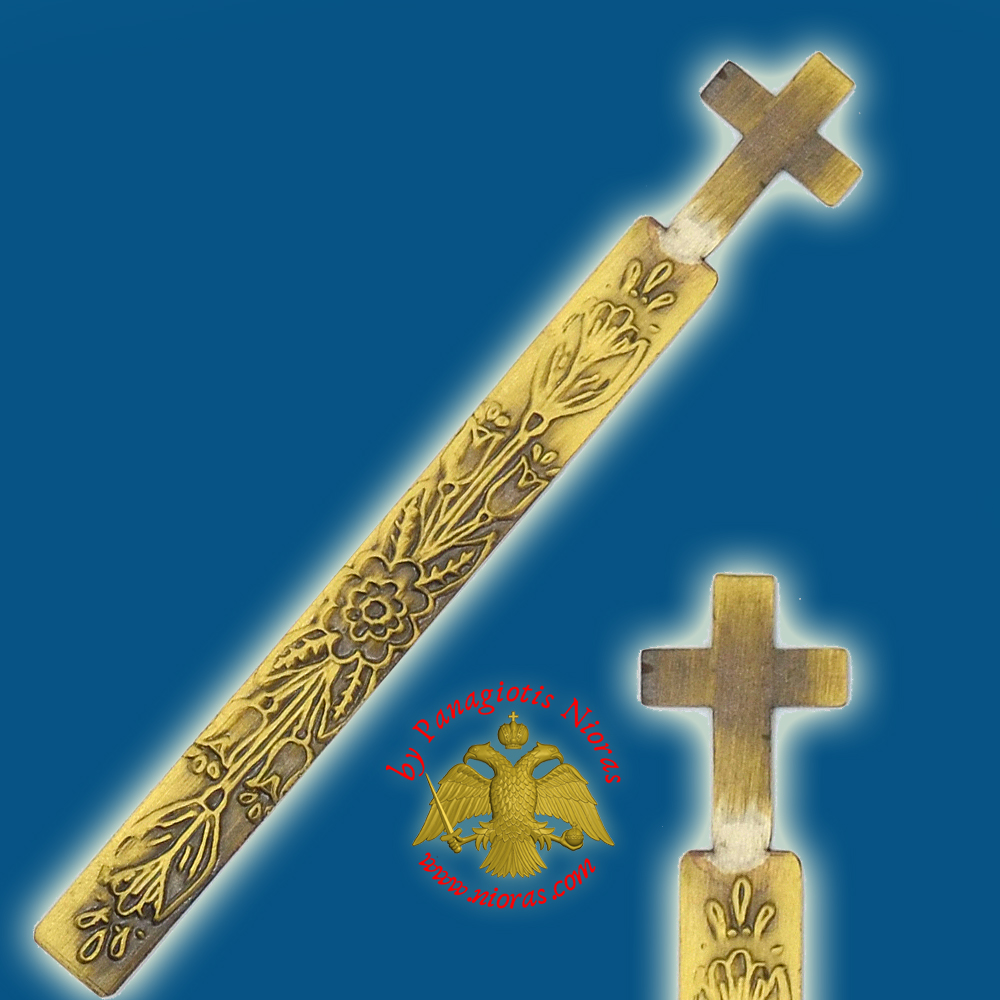Orthodox Metal Bookmark Cross Single Icon