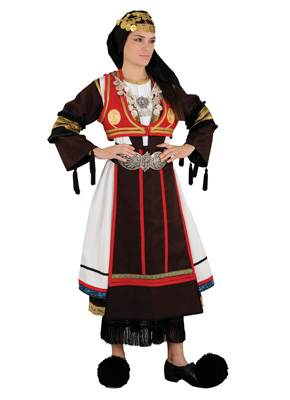 Karaguna Female Traditional Dance Costume