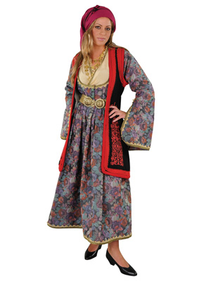 Epirus Female Type B' Traditional Dance Costume