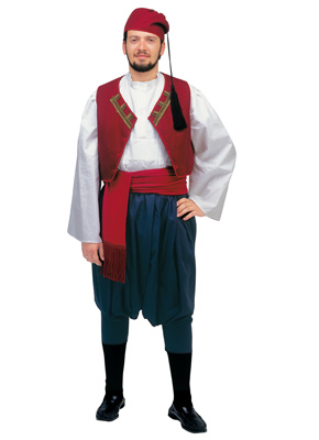 Aegean Islands Male Tradional Dance Costume