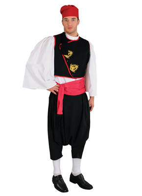 Cyclades Male Traditional Dance Costume