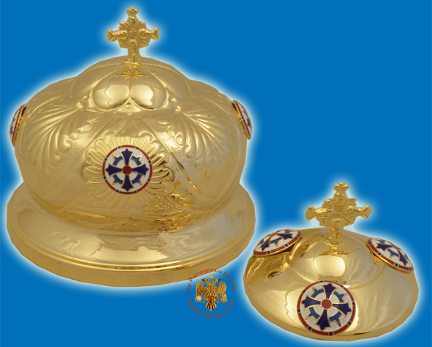 Cover for Holy Communion Cup and Discarion Metal