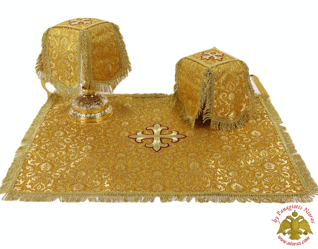 Covers Of The Holy Grail -  Communion Golden Cup Covers Embroidery