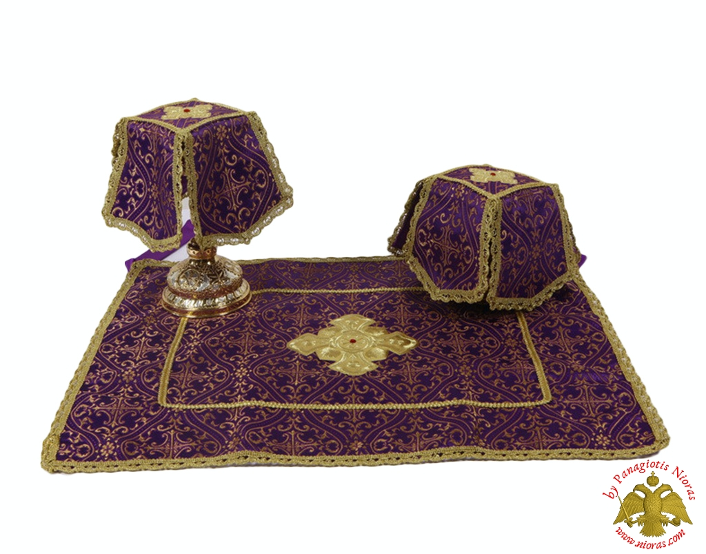 Covers Of The Holy Grail -  Communion Cup Covers Purple
