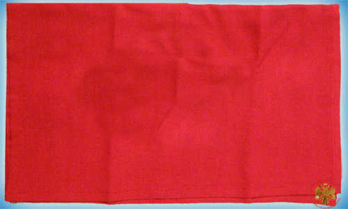 Maktron Simple Holy Communion Divine Liturgy purificator red cloth