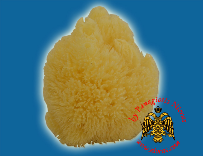Natural Sponge for Holy Communion Cup Cleaning from Greece