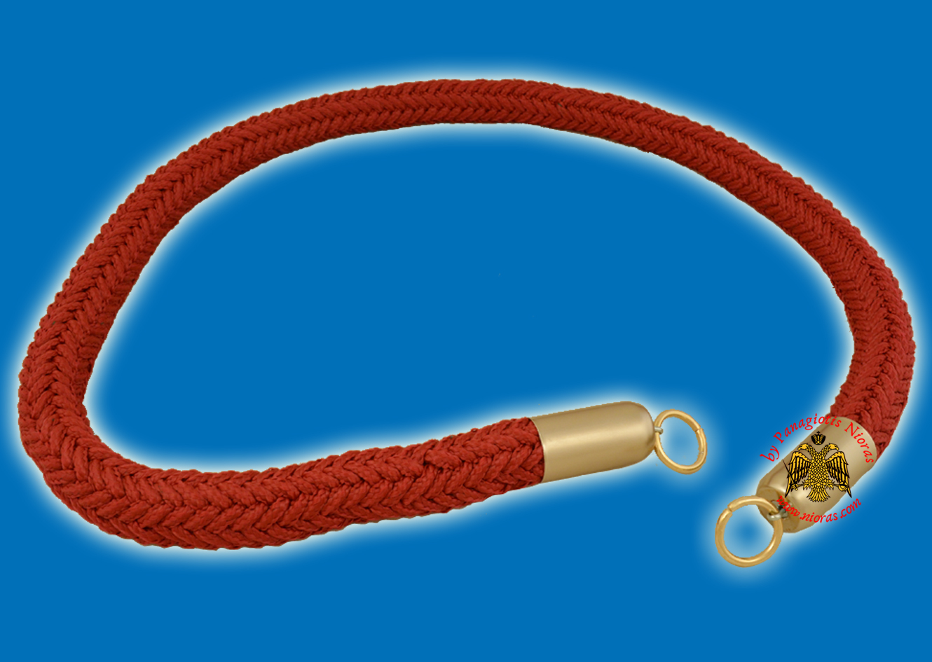 Orthodox Church Cord Ecclesiastical Burgundry 2.00cm