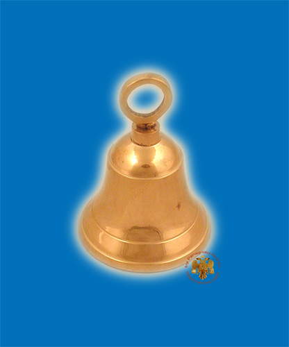 Church Orthodox Brass Metal Bell 8cm
