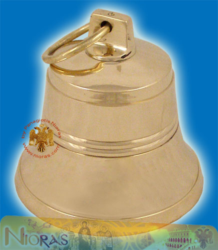 Church Orthodox Brass Metal Bell 15cm