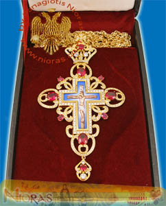Pectoral Cross Design 70