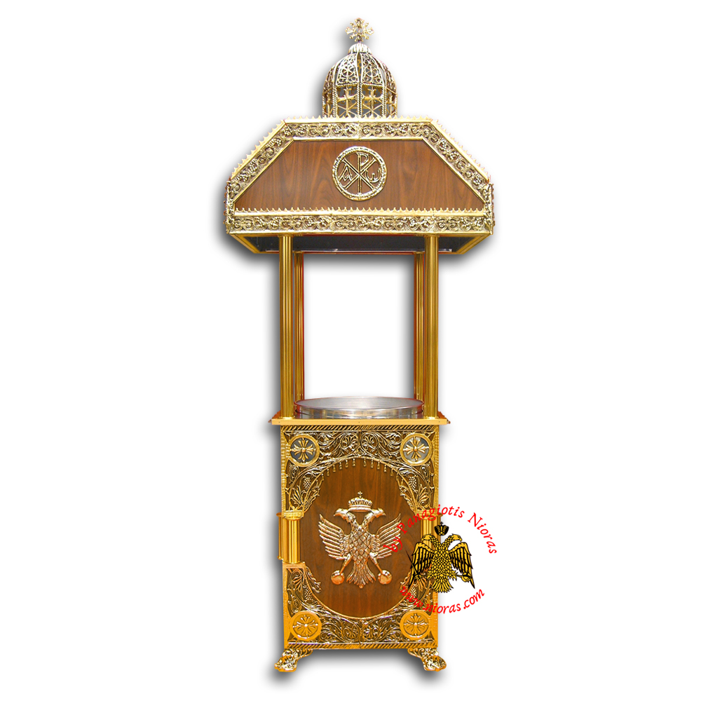 Orthodox Candle Case Aluminum With 1 Tray 100x70x260cm