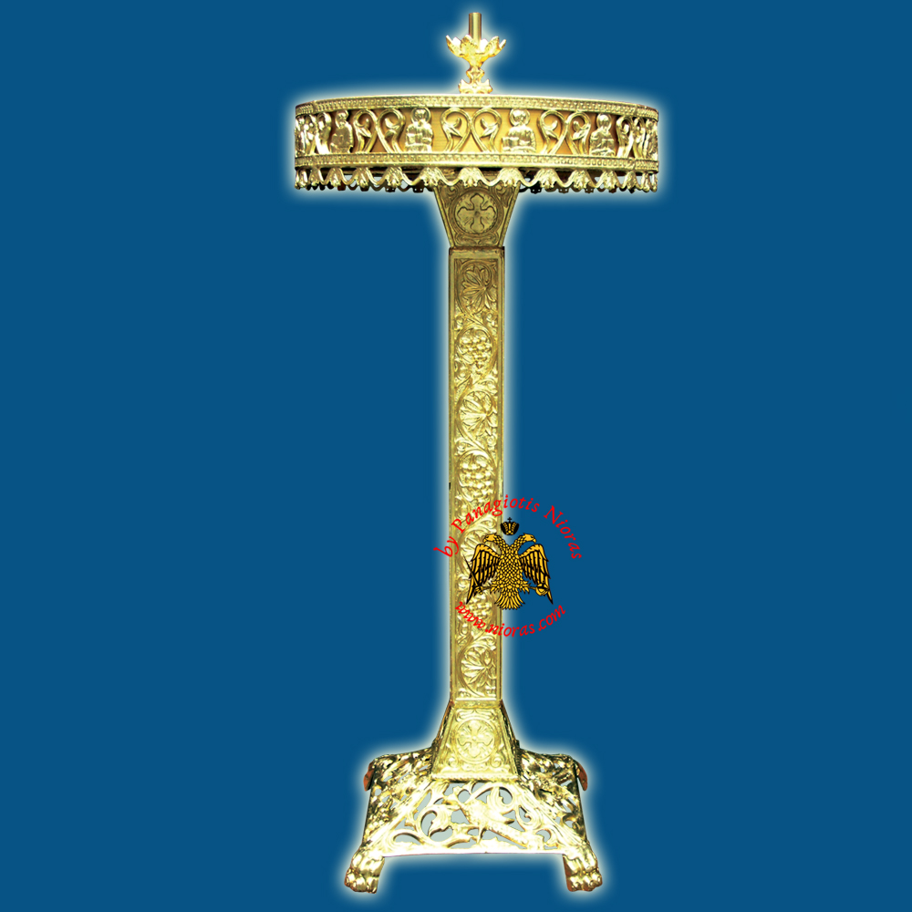 Orthodox Church Style Candelabrum Aluminum for Candles D:50x120cm