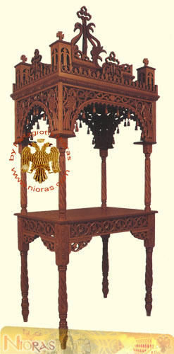 Orthodox Church Epitaph WoodCarved B