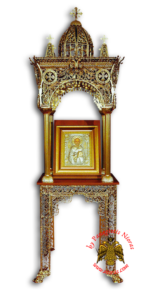 Orthodox Church Epitaph Iconostasis Aluminium A