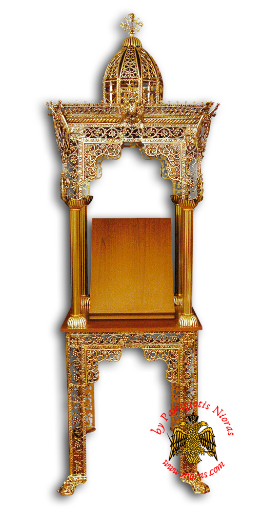 Orthodox Church Epitaph Iconostasis Aluminium B