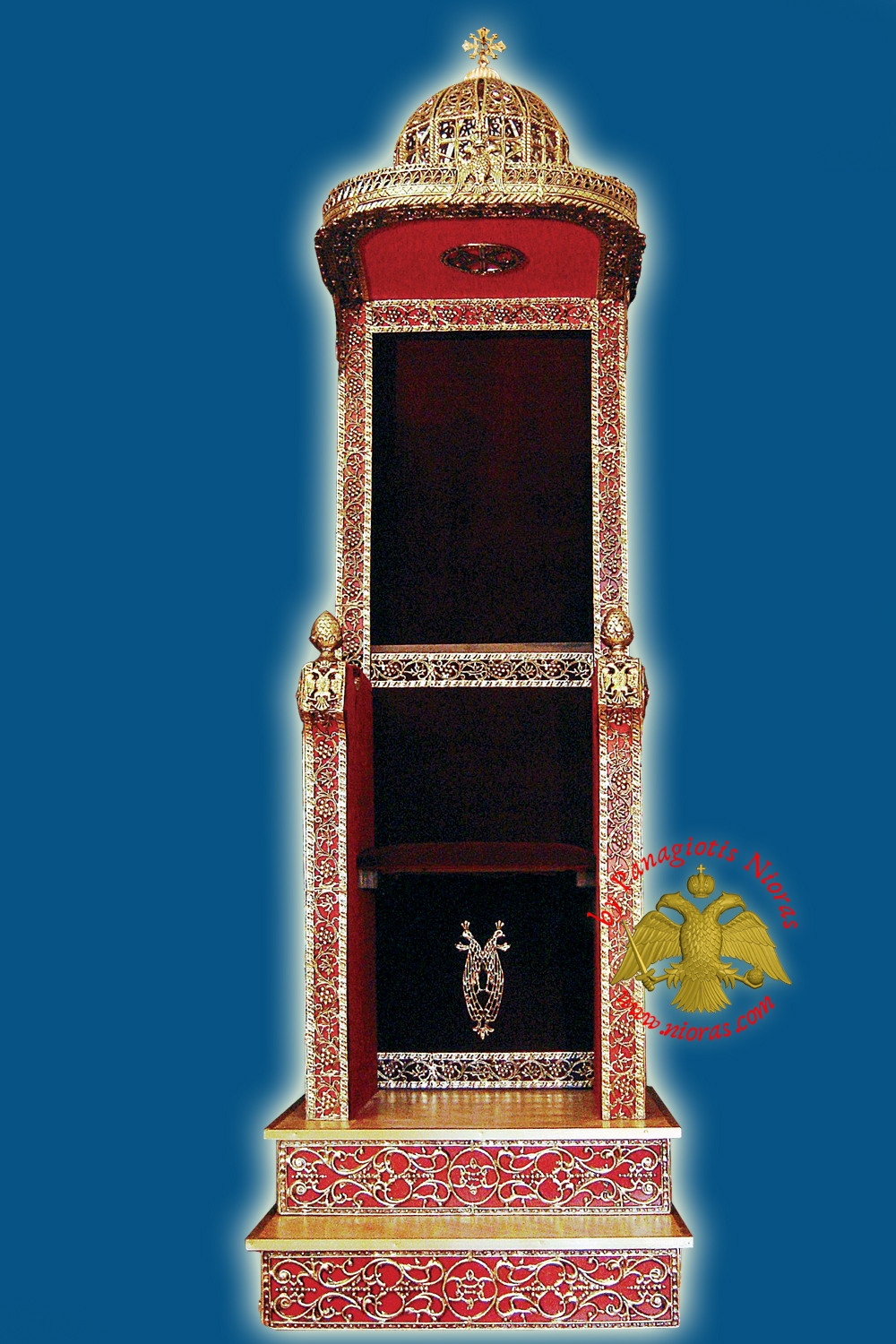 Orthodox Bishop Throne 80x120x240cm