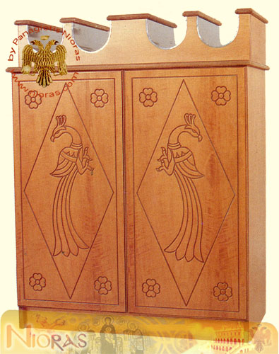 Candle Case MDF 4 Sites A