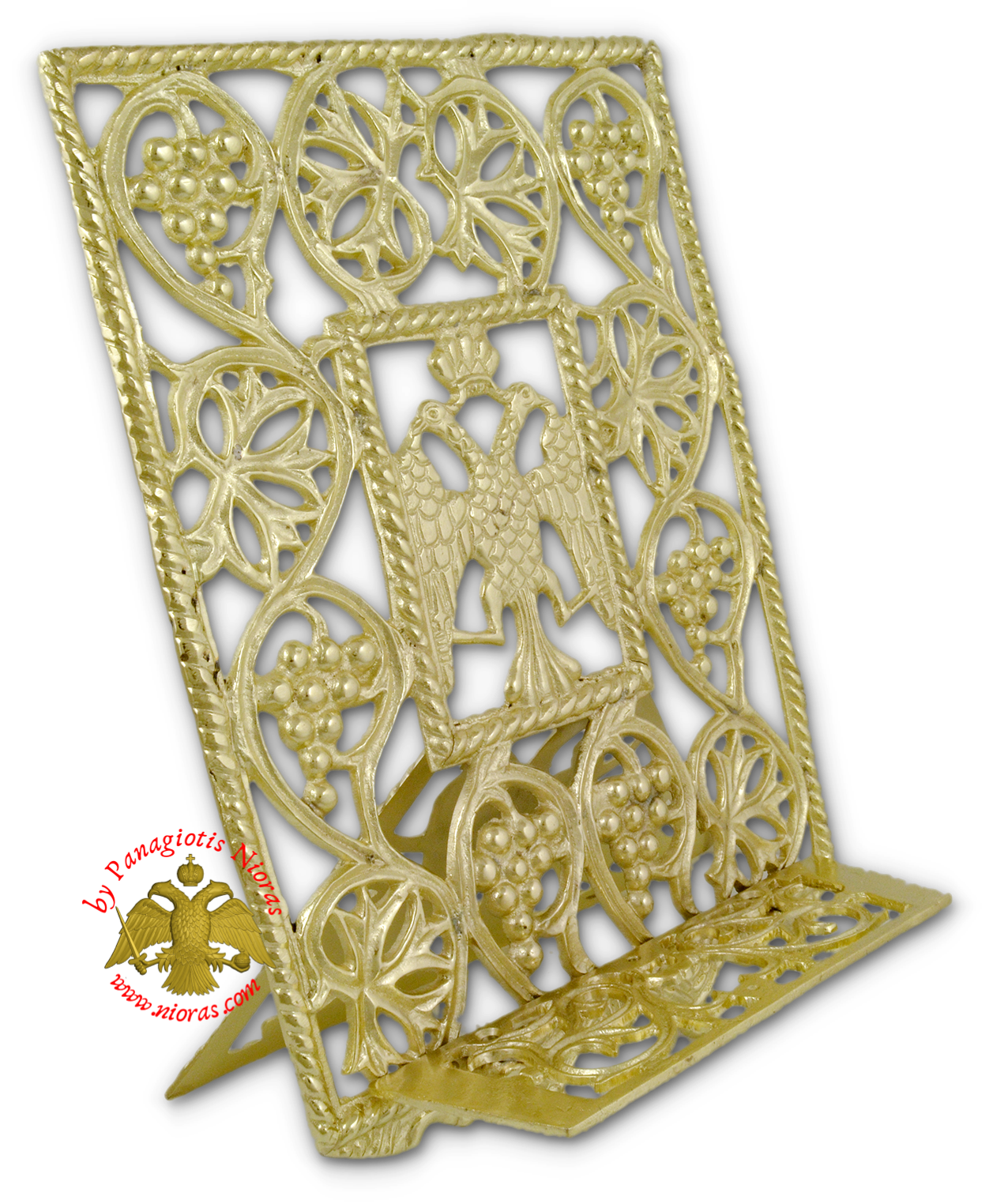Orthodox Holy Table Gospel or Icon Stand Brass Polished