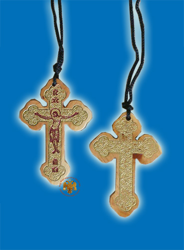 Byzantine Style Cross from Mount Athos