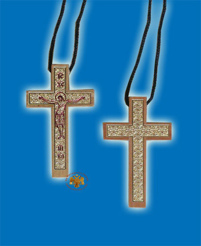 Wooden Simple Cross from Mount Athos